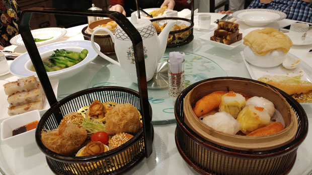 Guangzhou dimsum