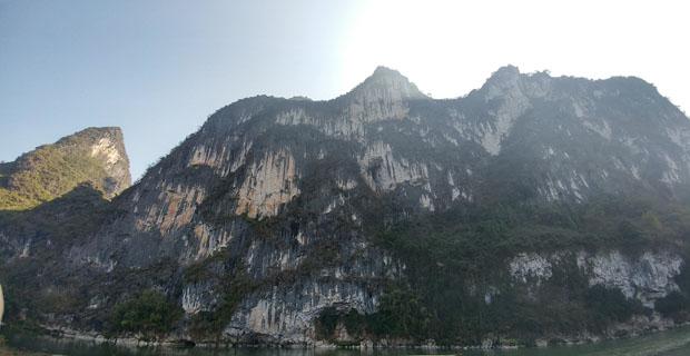 Li River cruise nine horse mountain