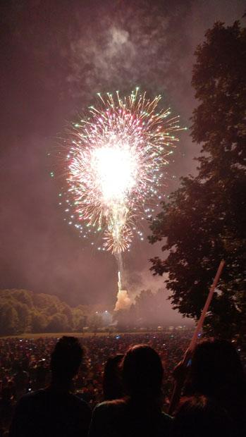 July 3rd fireworks