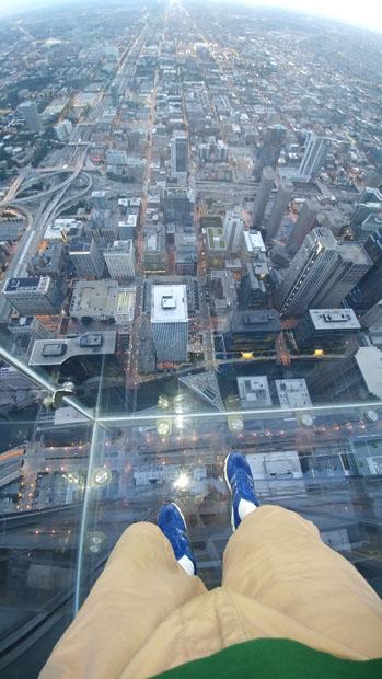 Willis Tower Skydeck Ledge