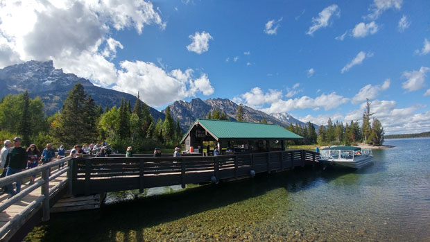Jenny Lake Shuttle Boat