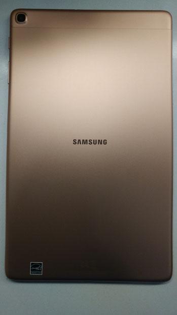 Samsung Galaxy Tab A 10.1 back