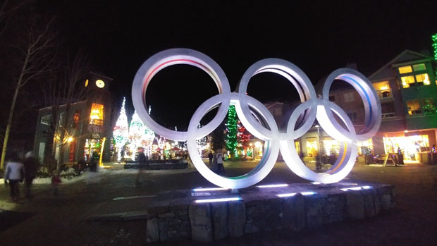 Whistler Village Olympic Plaza