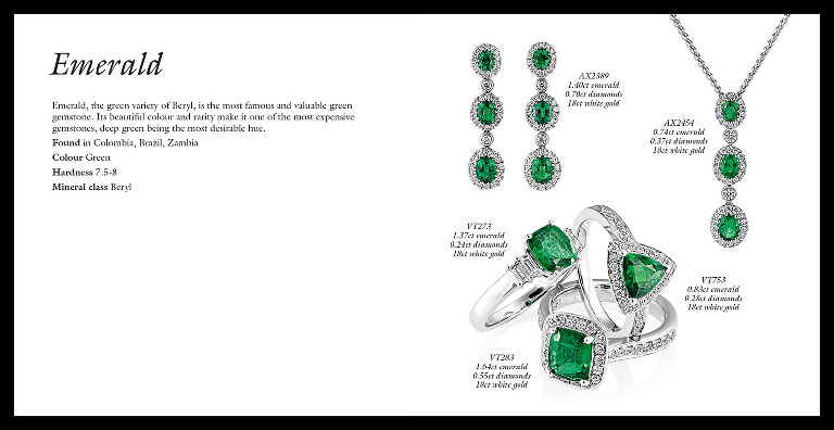 Jewellery brochure design, photography, retouching and artwork