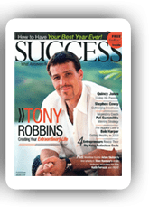 Success Magazine Tony Robbins biography