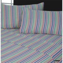 Kitchen Cushion Mat Bench With Storage Candy Stripe | Flannelette Sheet Set Tony's Textiles ...