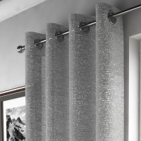 | Silver | Sparkle | Curtain Panel | Tony's Textiles ...