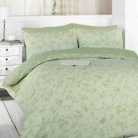 Toile Green Birds Duvet Cover Set | Tonys Textiles