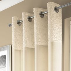 Kitchen Seat Cushions Drop Leaf Tables Madeira | Cream Curtain Panel Voile Tonys Textiles