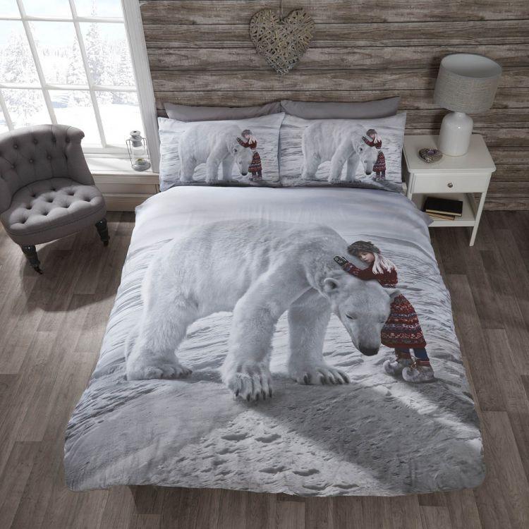 kitchen cushion mat trash cans for anoushka | christmas polar bear quilt tonys textiles