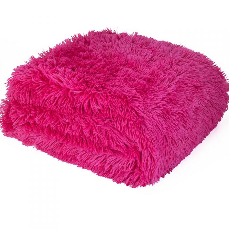 kitchen throw rugs washable turquoise decor cuddly   fluffy hot pink tonys textiles