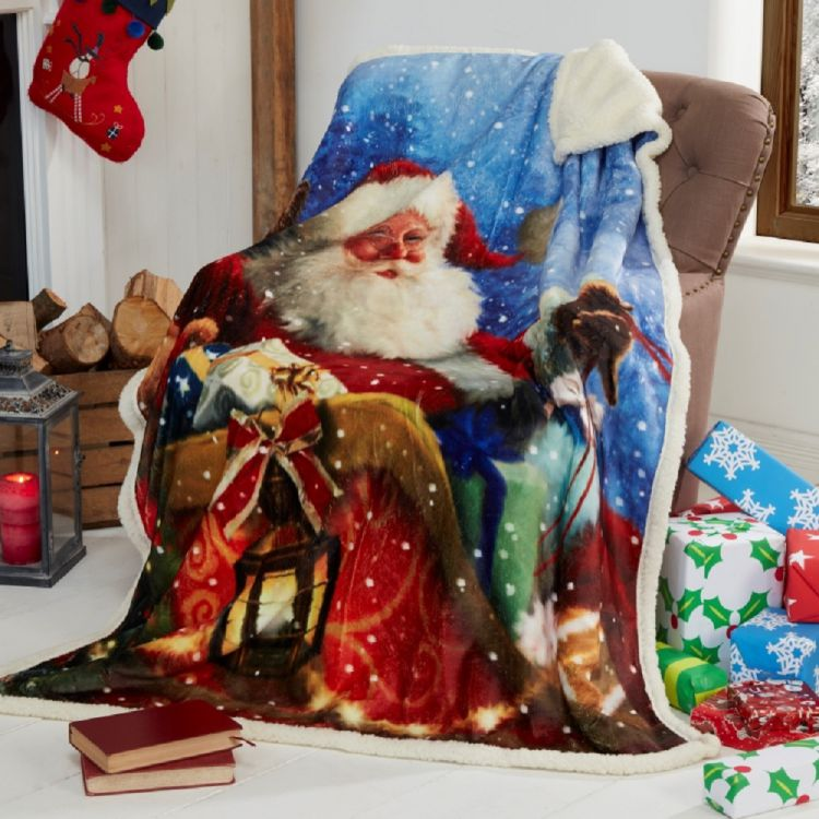 christmas chair covers for sale office kitchen table and chairs father | fleece blanket throw tonys textiles