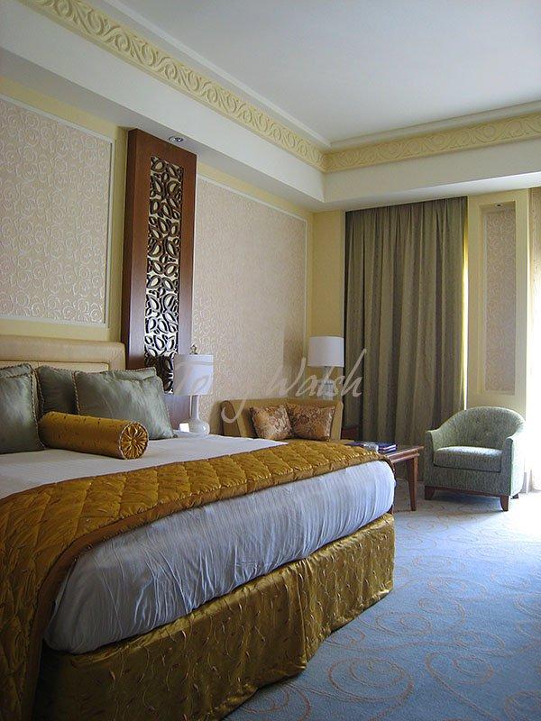 Al Bustan Palace bedroom preview