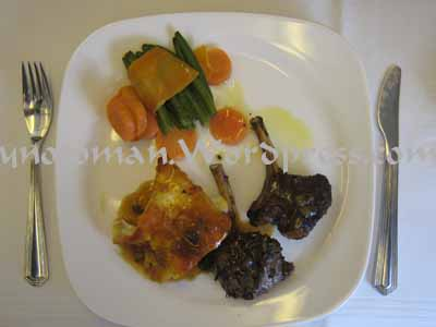 Oman Air Main Course