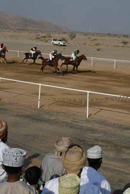 Horse Race in Adam Oman