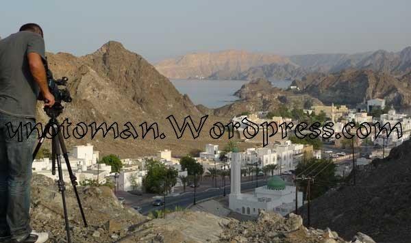 Lima filming Omans coast