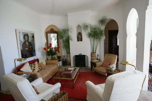 Dar Tangier Sitting Room