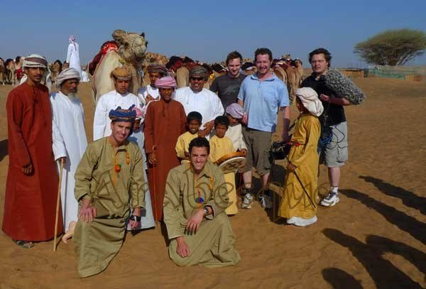 The TV Camel Racing Team