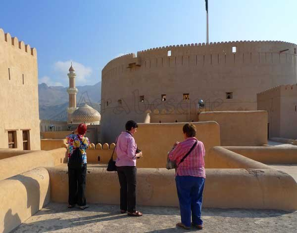 Taking Photos in Nizwa Fort
