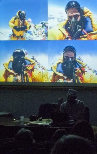 Khalid al Siyabi on Top of Everest