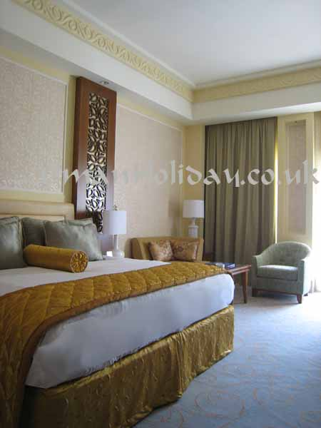 Al Bustan Palace bed room