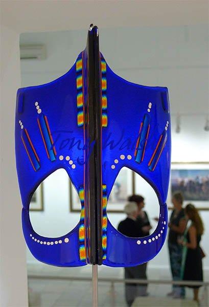 Tonny Holsbergen glass Face Mask