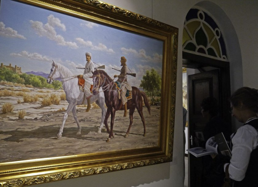Horse Riders by David Willis
