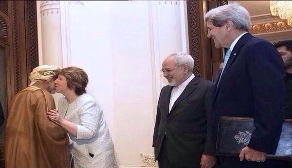 The Kiss of Diplomats