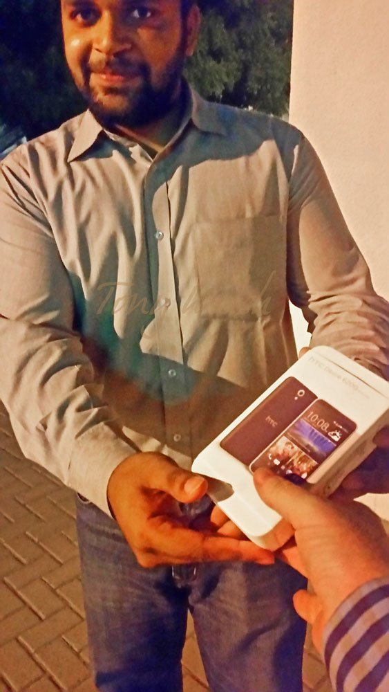 Prize-HTC-Phone-Delivery by Farhan