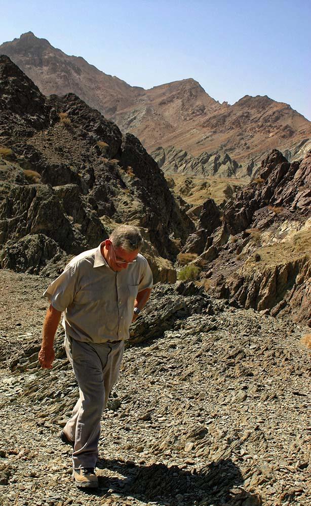 David Insall in Wadi As Serain