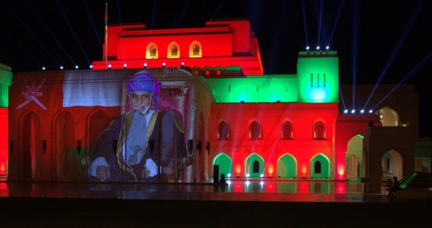 Royal Opera House Sound and Light welcomes Sultan Qaboos home.