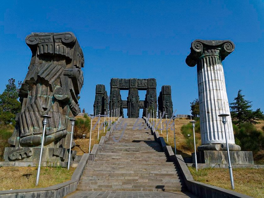 Chronical of Georgia monument