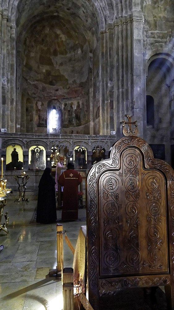 Svetitskhoveli Cathedral Interior
