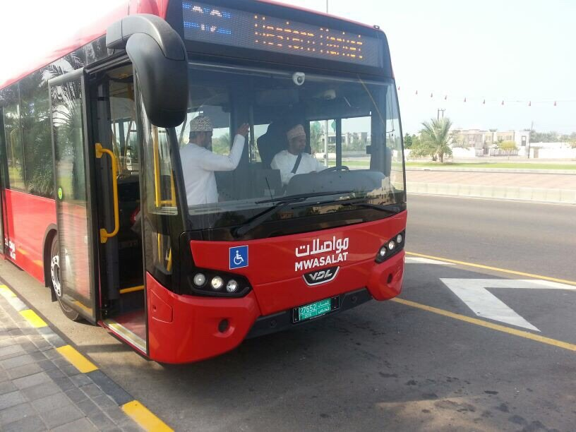 Oman's new Bus Fleet