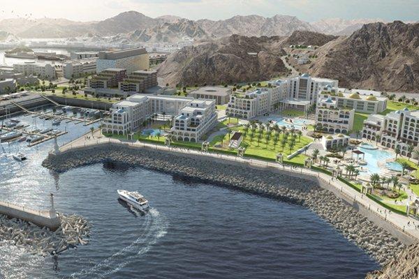 Mina Qaboos OMRAN Mina Sultan Qaboos Waterfront