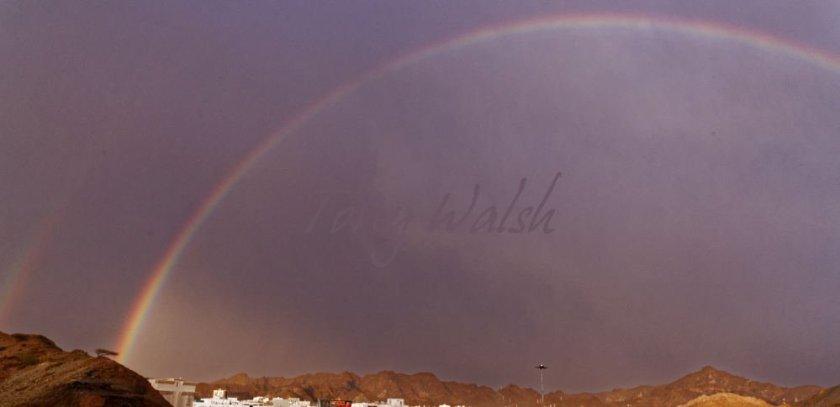 Rainbow in Muscat