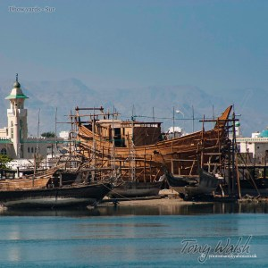 Dhow yards Sur