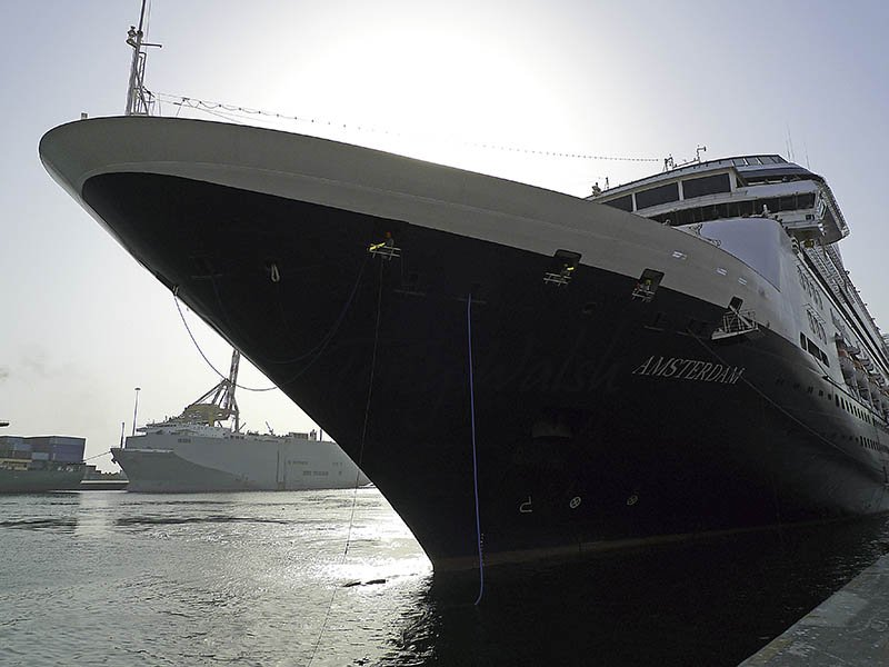 Cruise-Ship-Amsterdam-in-Muscat