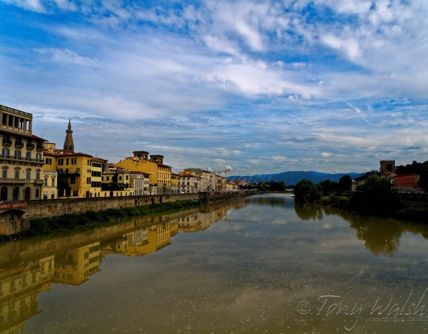 The Arno river Florence