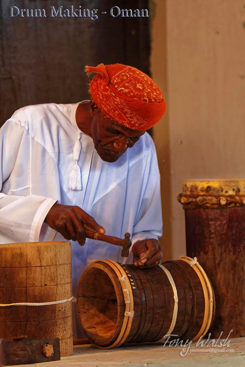 Drum maker Oman