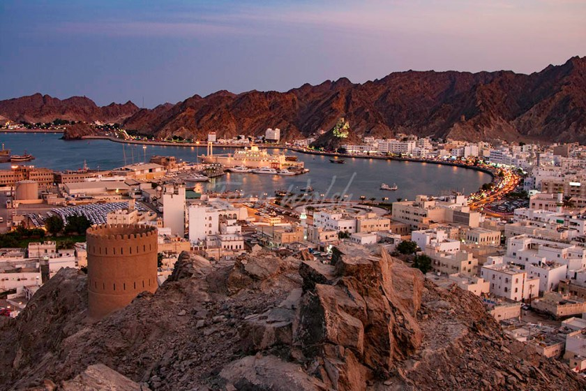 Muttrah and Port Sultan Qaboos