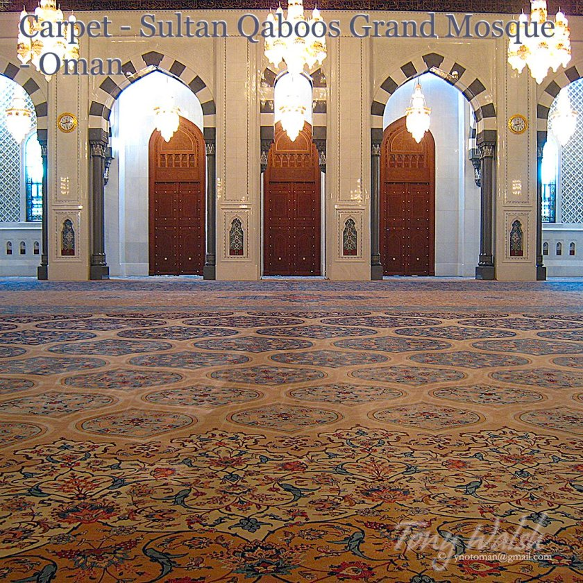 Carpet - Sultan Qaboos Grand Mosque