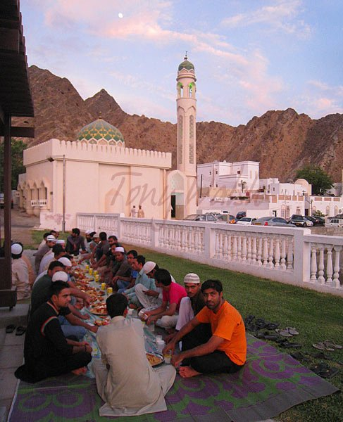 Iftar in Muttrah