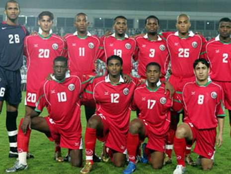 Oman Football Team's 11