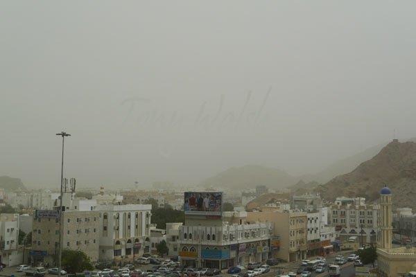 Ruwi Oman Dust Storm 20th March 2012