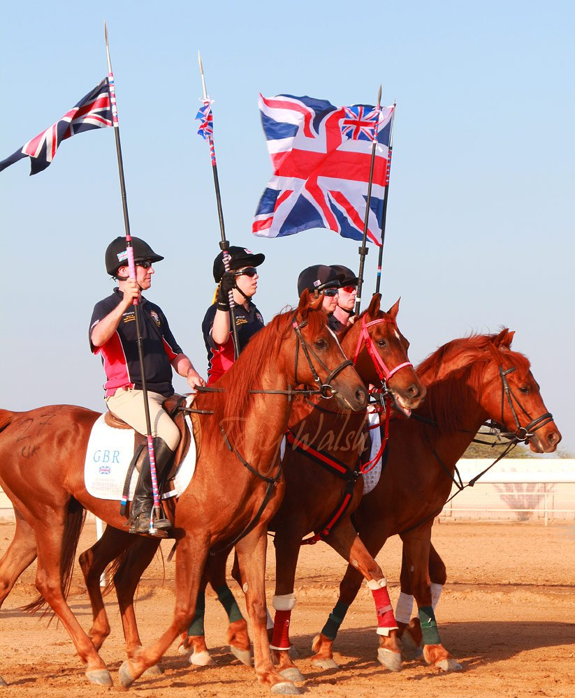Tent Pegging Team GB