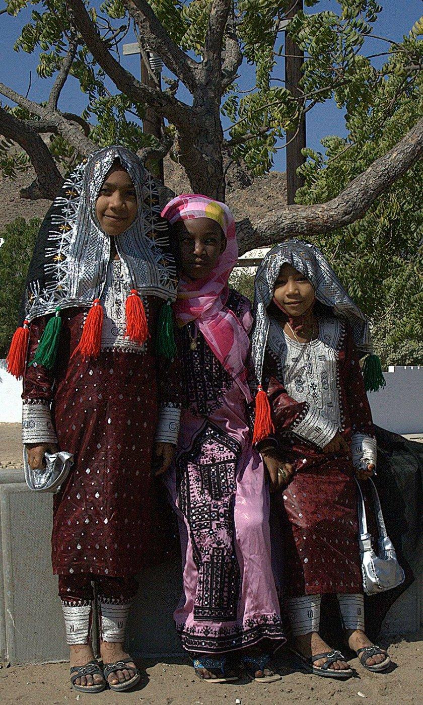 Girls at Eid Muscat