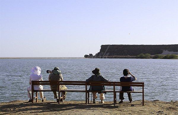 Khor Rori the UNESCO Site in southern Oman