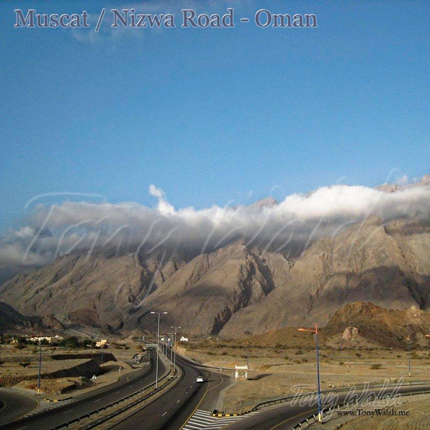 Muscat Nizwa Road Oman