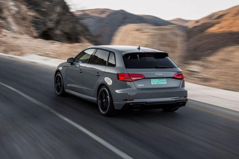 Audi Sportback on Road